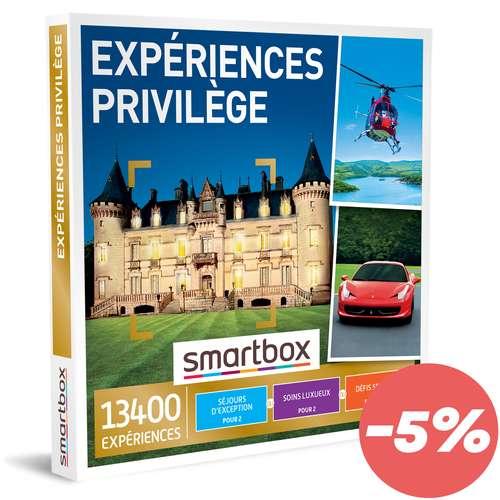 Coffrets et box cadeaux - Coffret cadeau Multi Thématiques Expériences - Privilège |Smartbox - Pandacola