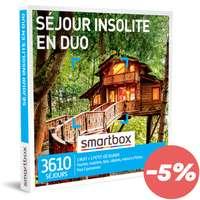 Coffret cadeau Séjour - Séjour insolite en duo |Smartbox - Pandacola