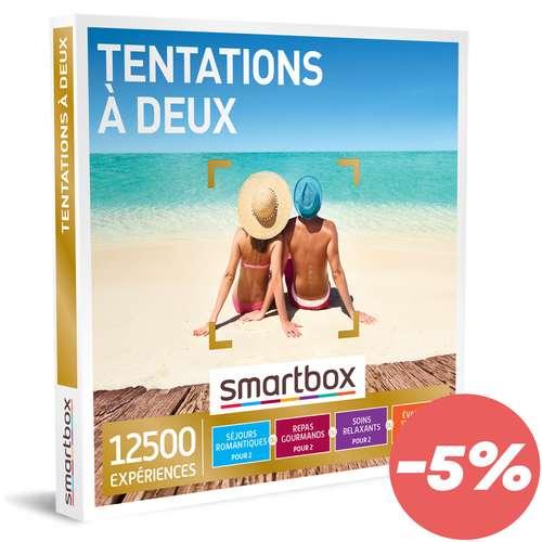 Coffrets et box cadeaux - Coffret cadeau Multi activités - Tentation à deux |Smartbox - Pandacola
