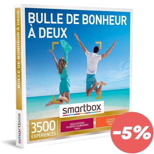 Coffrets et box cadeaux - Box cadeau Multi activités - Bulle de bonheur à deux |Smartbox - Pandacola