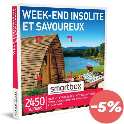 Coffrets et box cadeaux - Coffret cadeau Séjour Séjour Gastronomique - Week-end insolite et savoureux |Smartbox - Pandacola