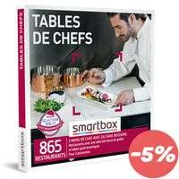 Coffret cadeau Gastronomie - Tables de chefs |Smartbox - Pandacola