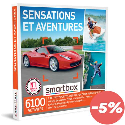Coffrets et box cadeaux - Coffret cadeau Bien être - Spa et volupté |Smartbox - Pandacola
