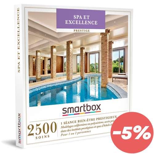 Coffrets et box cadeaux - Coffret cadeau Prestige bien être - Spa & Excellence |Smartbox - Pandacola