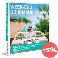 Coffret cadeau Séjour Bien être - Week-end gourmand et spa |Smartbox - Pandacola