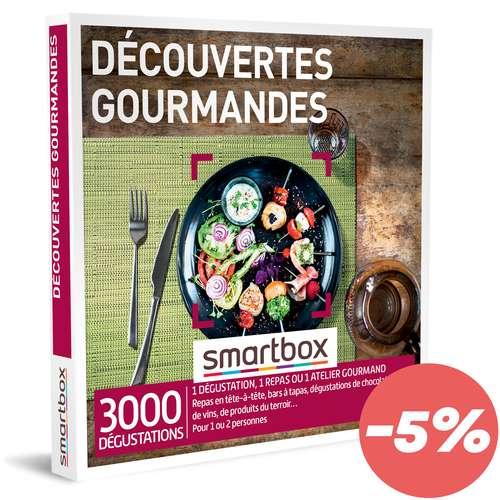 Coffrets et box cadeaux - Coffret cadeau Gastronomie - Découvertes gourmandes |Smartbox - Pandacola