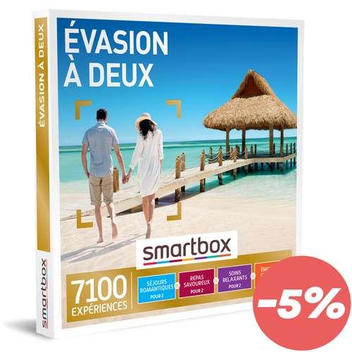 Coffrets et box cadeaux - Coffret cadeau Muti-activités - Evasion à deux |Smartbox - Pandacola