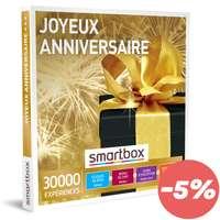 Box cadeau Muti-activités - Joyeux anniversaire |Smartbox - Pandacola