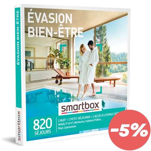 Coffrets et box cadeaux - Coffret cadeau Séjour bien-être - Evasion bien-être |Smartbox - Pandacola