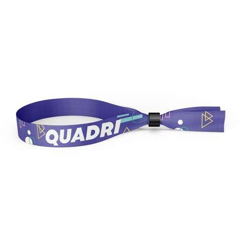 Bracelets en tissu - Bracelet sublimation publicitaire avec fermeture de sécurité - Pandacola