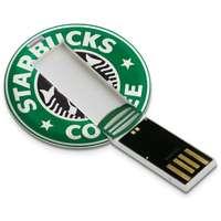 Clé USB publicitaire en forme de jeton - Zapa - Pandacola
