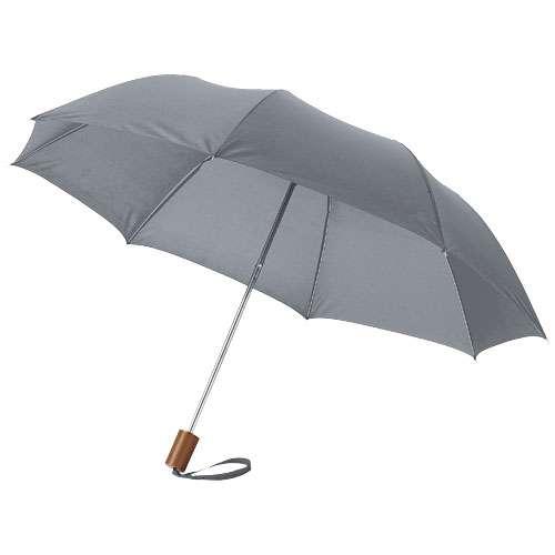 Parapluies classiques - Parapluie pliant personnalisé manche droit - Oho - Pandacola
