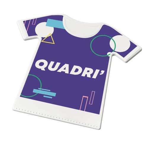 Grattoirs auto - Grattoir à glace publicitaire en forme de t-shirt - Mister T - Pandacola