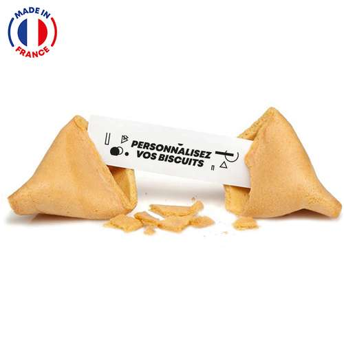 Fortune cookies/Biscuits chinois - Fortune Cookies made in France avec messages personnalisés - Pandacola