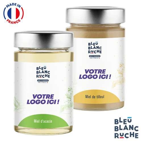 Pots de miel - Assortiment de pots de 250g de miel monofloral | Bleu Blanc Ruche - Pandacola