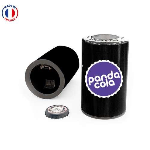 Décapsuleurs/Ouvre-bouteilles - Décapsuleur recapsuleur publicitaire fabriqué en France - Pandacola