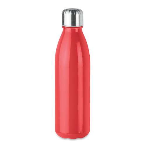 Bouteilles - Bouteille publicitaire en verre 650 ml avec bouchon en inox - Aspen Glass - Pandacola