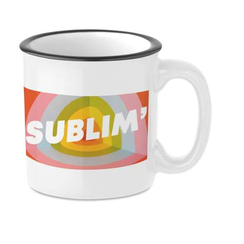 Mugs - Mug vintage avec marquage sublimation 240 ml - Tweenies Sublim - Pandacola