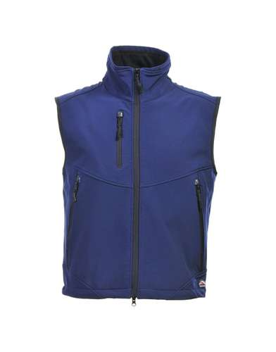 Bodywarmers - Gilet technique softshell Homme sans manches - Carbone | Mustaghata - Pandacola