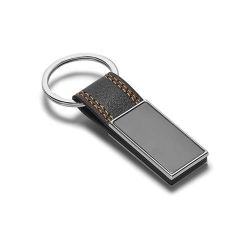Porte-clés standards - Porte-clés publicitaire avec liserets de couleur - Goya - Pandacola