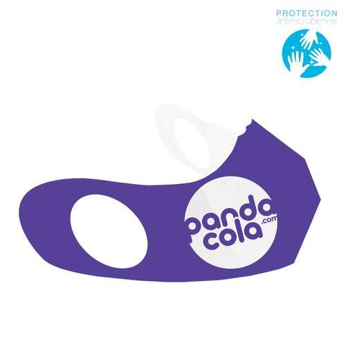 Masques de protection - Masque anti-projection en papier antimicrobien marquage inclus - Satoro - Pandacola