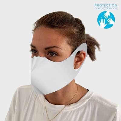 Masques de protection - Masque anti-projection en papier antimicrobien blanc - Torli - Pandacola