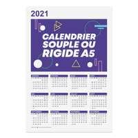 Calendrier  publicitaire 2021 recto format A5 - Calhoun - Pandacola