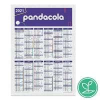 Calendrier publicitaire colonne A5 à semer après utilisation en papier - Marli - Pandacola
