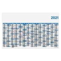 Calendrier de banque rigide et personnalisable grand format - 65x40,5 cm - Pandacola