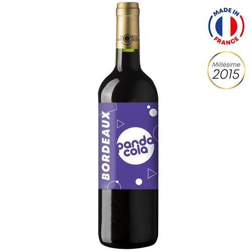 Bouteilles de vin - Bouteille de vin 75cl Bordeaux Supérieur 2015 avec étiquette personnalisable | Château Sainte Barbe - Pandacola
