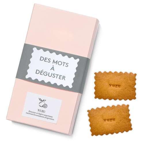 Autres biscuits sucrés - Boite de 12 biscuits personnalisables - Made in France - Pandacola