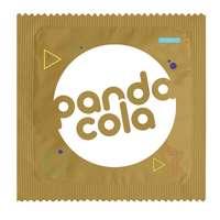 Préservatif publicitaire doré ou argenté à personnaliser - Pandacola