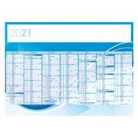 Calendrier bancaire personnalisable 43 x 37.5 cm | Abstrait - Pandacola