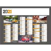 Calendrier bancaire personnalisable 27 x 21 cm | Voiture - Pandacola