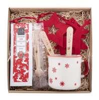 Coffret cadeau personnalisable chocolat chaud lover - Bruges - Pandacola