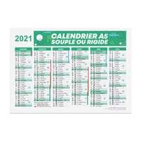 Calendrier publicitaire 2021 recto/verso format A5 - Alford - Pandacola