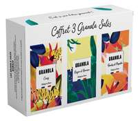 Coffret Granola salés  - Made in France - Pandacola