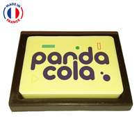 Cartes en chocolat à personnaliser - Made in France - Pandacola