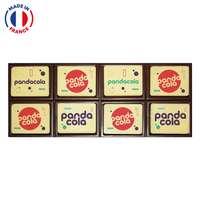 Coffret de cartes en chocolat à personnaliser - Made in France - Pandacola