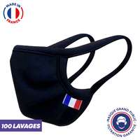 UNS1 100 lavages - Masque réutilisable fabriqué en France - Pandacola