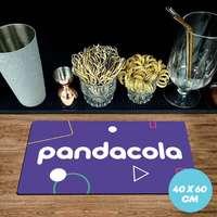 Tapis de comptoir publicitaire en caoutchouc 1,5 mm - 40x60cm - Pandacola