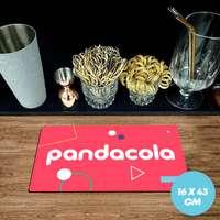 Tapis de bar publicitaire caoutchouc 1,5 mm - 16x43 cm - Pandacola