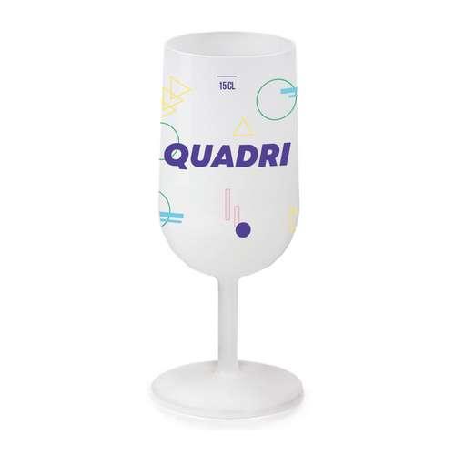 Verres à vin - Verre à vin publicitaire réutilisable 12-18 cl - Pandacola