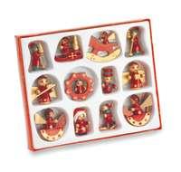 Set de décorations publicitaire de noël pour sapin (12 pièces) - Sanfam - Pandacola