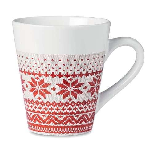 Mugs - Mug publicitaire avec motifs de noël 340 ml - Ulvi - Pandacola