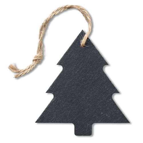 Autres décorations de Noël - Ardoise personnalisée en forme de sapin avec cordelette - Plate Sapin - Pandacola