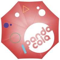 Parapluie automatique personnalisable sur les 8 panneaux et tige en métal - CreaRain eight - Pandacola
