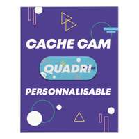Cache caméra personnalisé coulissant - CreaCam - Pandacola