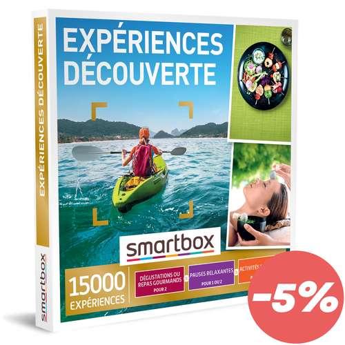 Coffrets et box cadeaux - Coffret cadeau Multi Thématiques Expériences - Découverte  Smartbox - Pandacola