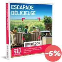 Coffret cadeau Séjour gastronomique - Escapade délicieuse |Smartbox - Pandacola